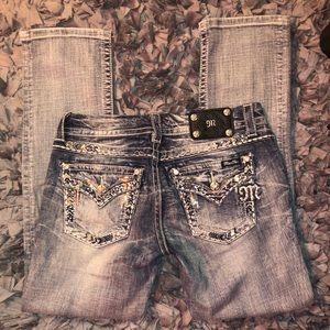 Miss Me jeans straight leg size 29 waist